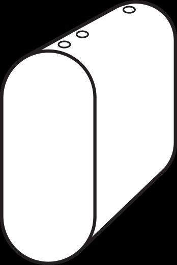 Vertical Obround Tank